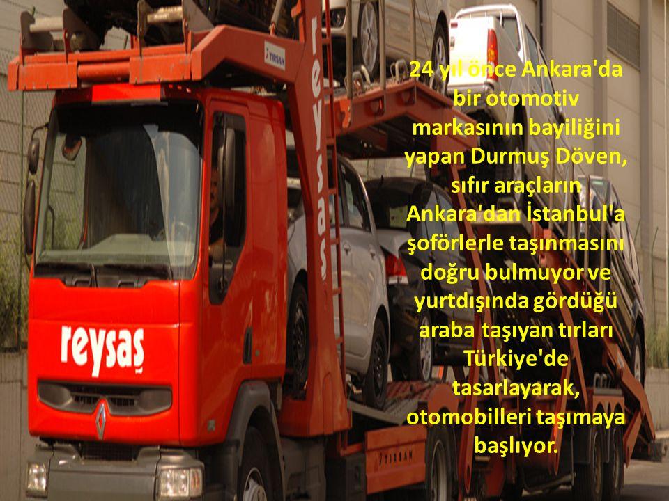 Reysaş; 1989 yılında merkezi Ankara da ticari faaliyetlerine başlamıştır.