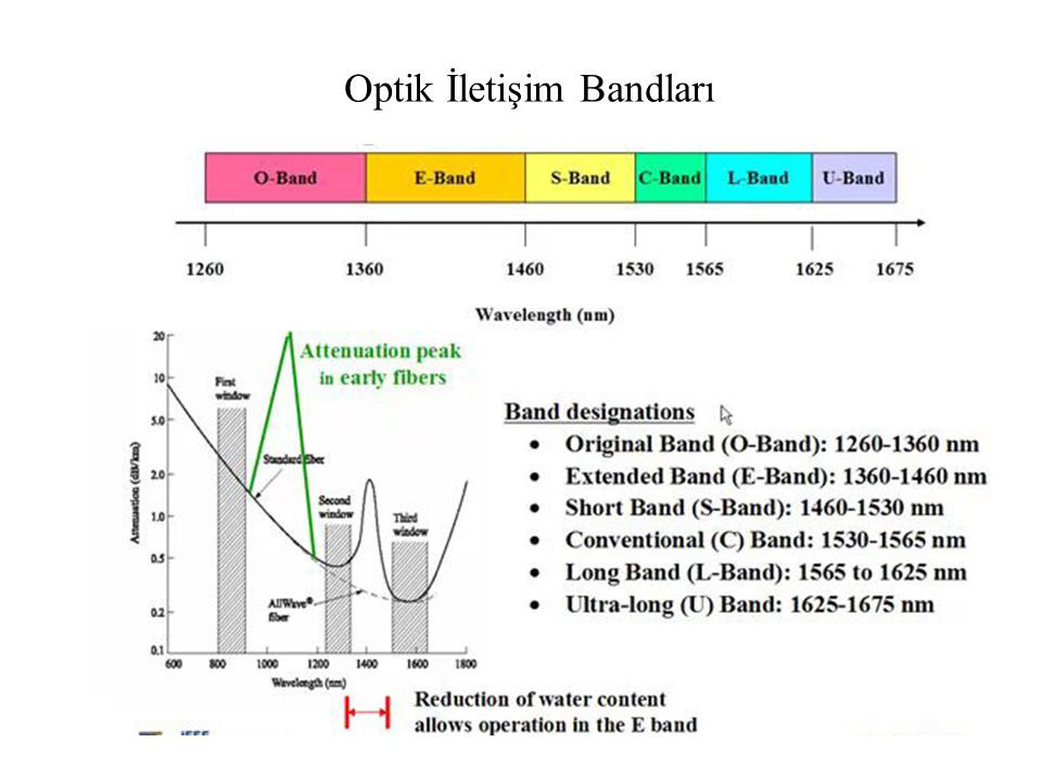 Optik İletişim Bandları