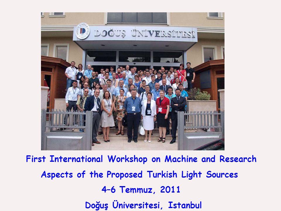 TÜRKAY User Group 9 Temmuz 2011 - ~ 30 araştırmacı Temmuz 2013 - ~ 100 araştırmacı (Türkiye'den 30 kurum, yurtdışından 9 kurum) Her yıl ulusal bir kullanıcı toplantısı İki yılda bir uluslararası çalıştay SESAME ile ilişkiler THM Projesi SR Makine Grubu ile ilişkiler Kullanıcılara destek ESRF'de ışınım hattı kiralanması hazırlıkları