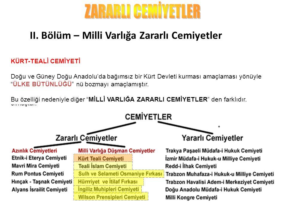 """İSLAM-TEALİ CEMİYETİ İstanbul'daki Medrese Hocaları tarafından kurulmuş bu cemiyet,Osmanlı'nın Kurtuluşu'nu """"DİNİ KURALLARA ve HALİFELİĞE-HİLAFETE BAĞ"""