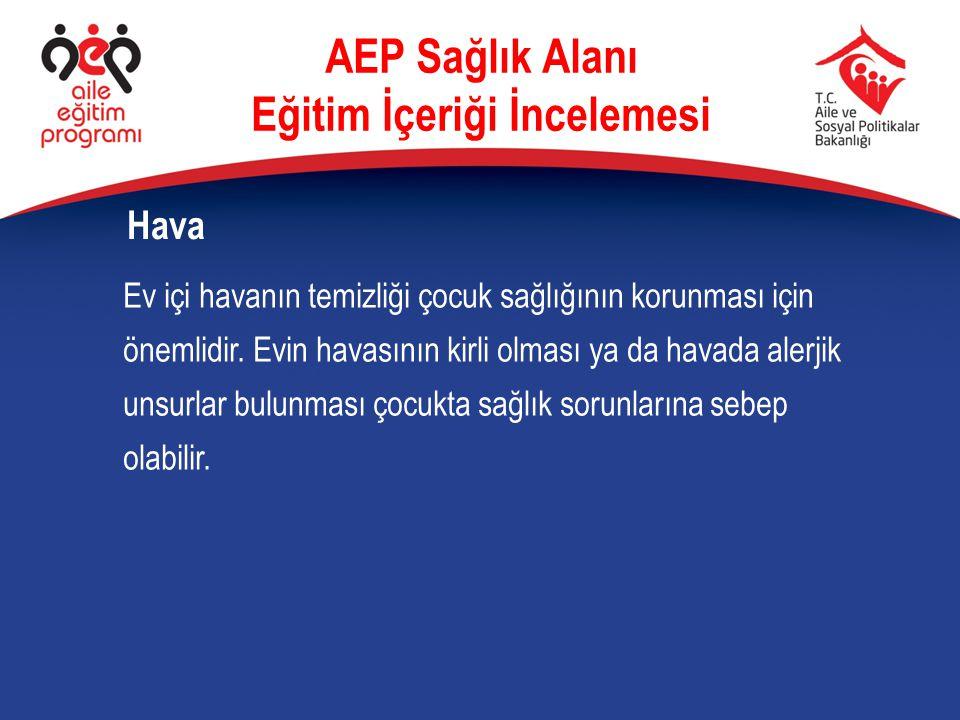Ev içi havanın temizliği çocuk sağlığının korunması için önemlidir. Evin havasının kirli olması ya da havada alerjik unsurlar bulunması çocukta sağlık