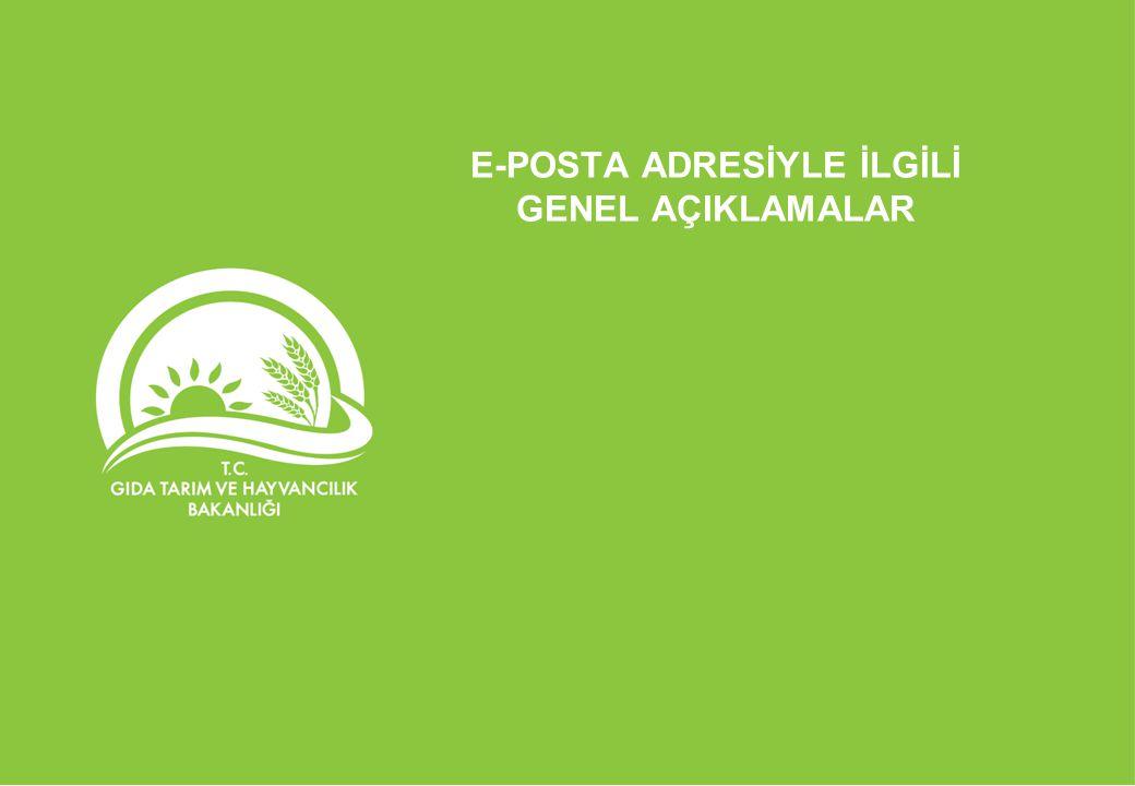 E-POSTA ADRESİ KULLANIMI EĞİTİMİ E-POSTA ADRESİNDEKİ AYARLAR-3
