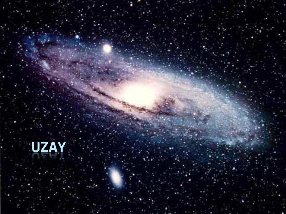  Uzay, Dünya nın atmosferi dışında evrenin geri kalan kısmına verilen isimdir.