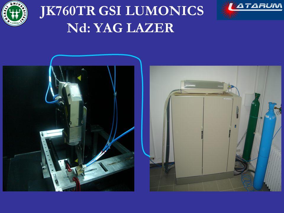 JK760TR GSI LUMONICS Nd: YAG LAZER