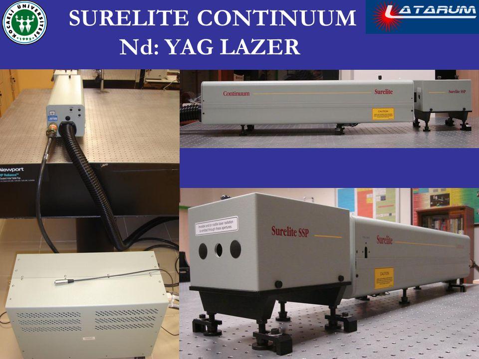 SURELITE CONTINUUM Nd: YAG LAZER