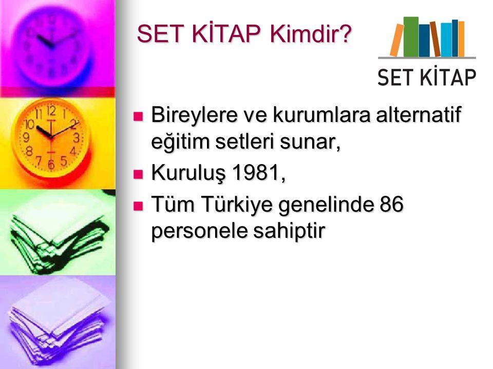 Bireylere ve kurumlara alternatif eğitim setleri sunar, Bireylere ve kurumlara alternatif eğitim setleri sunar, Kuruluş 1981, Kuruluş 1981, Tüm Türkiy