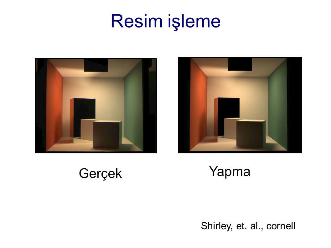 Resim işleme Gerçek Yapma Shirley, et. al., cornell