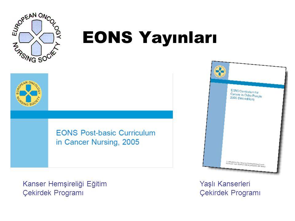 EONS Yayınları Kanser Hemşireliği Eğitim Yaşlı KanserleriÇekirdek Programı