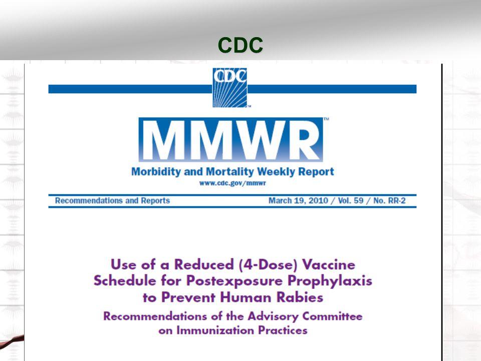 CDC HDCV 1-1-1-1 1 mL IM uygulama 0.,3.,7., ve 14. günde PCECV