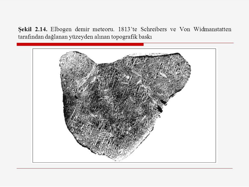 Şekil 2.14.Elbogen demir meteoru.