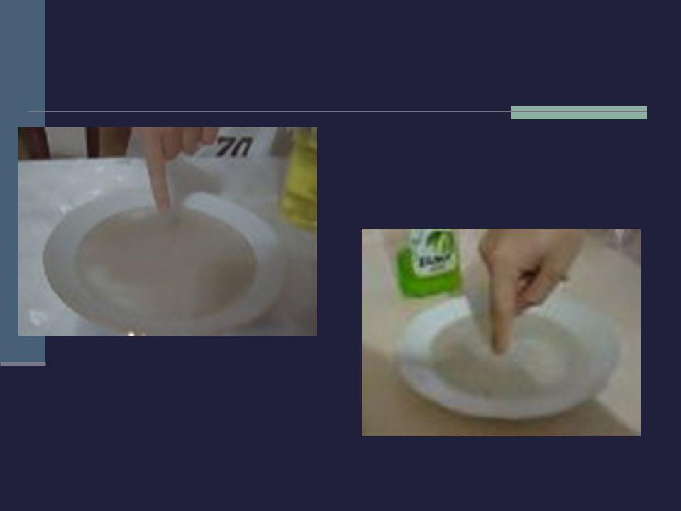 Deney Malzemeleri: Boyar maddeler, süt, deterjan, tabak Deneyin Yapılışı: Tabak sütle doldurulur.