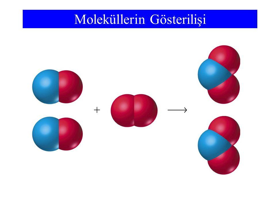Moleküllerin Gösterilişi