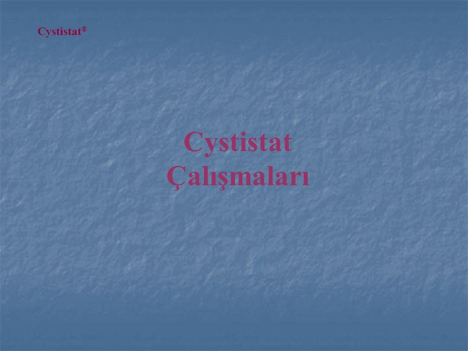 Cystistat Çalışmaları Cystistat ®