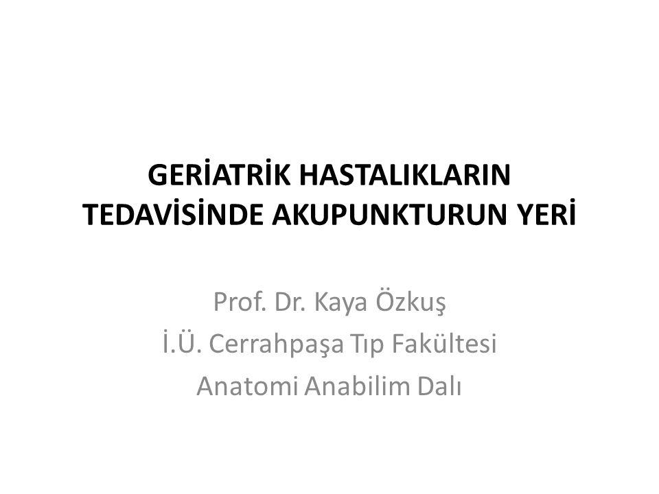 Çok Sevgili Prof.Dr.