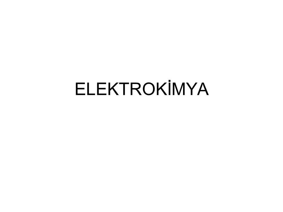 Madem maddeler birbirlerinden elektron alıp verebiliyorlar ve elektron akışı da elektrik akımı ise, uygun bir düzenekle indirgenme-yükseltgenme reaksiyonları ile elektrik akımı oluşturabilim