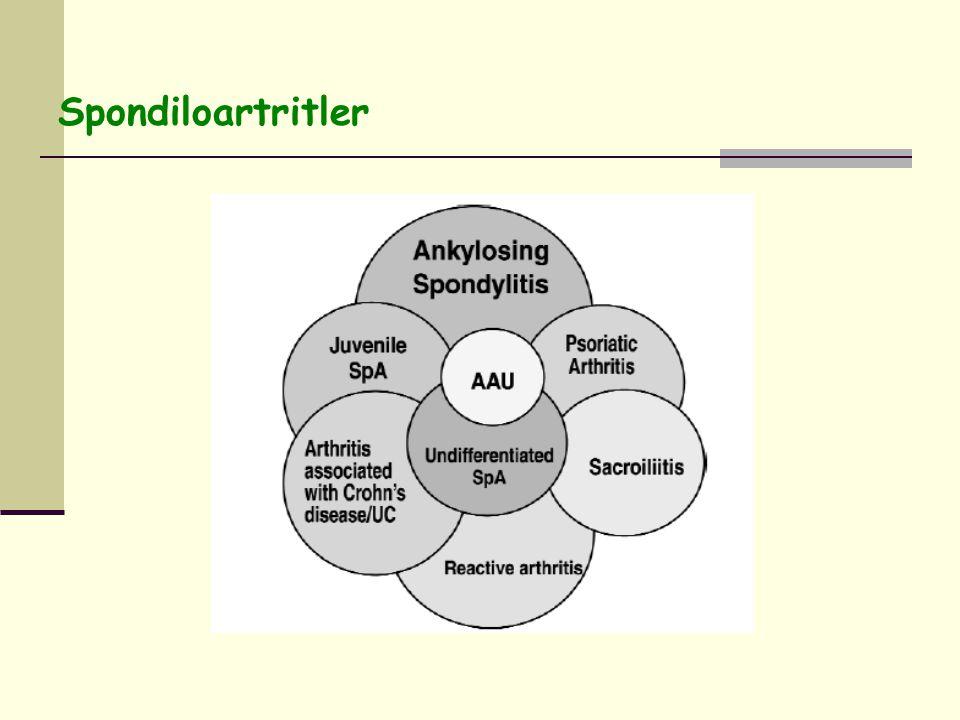 Spondiloartritler
