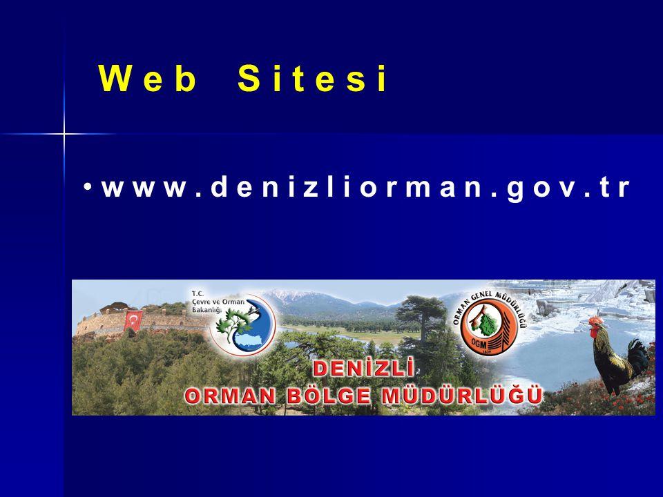 W e b S i t e s i Web sitesinin güncelleştirmeleri OBM Web Birimince yapılmaktadır.