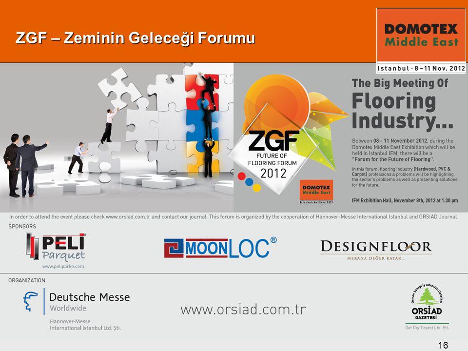 16 ZGF – Zeminin Geleceği Forumu