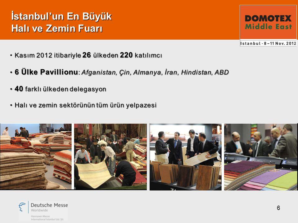 6 İstanbul'un En Büyük Halı ve Zemin Fuarı