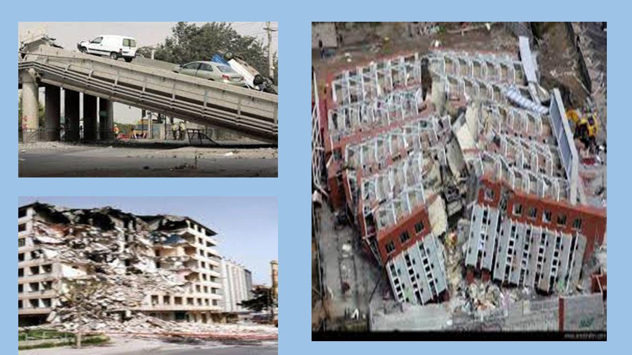 Deprem Yer kabuğunda çeşitli nedenlerle meydana gelen ani ve şiddetli kısa süreli sarsıntılardır. Ne zaman olacağı önceden bilinemez. Büyük yıkımlara,