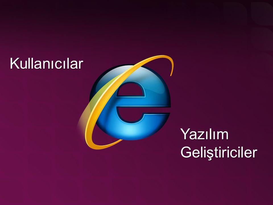Admin haklarına ihtiyaç yok Kullanıcı bazlı ActiveX yüklemesi Site bazlı ActiveX yüklemesi Rendering alt yapısında değişiklikler Bir zoom yapsak?