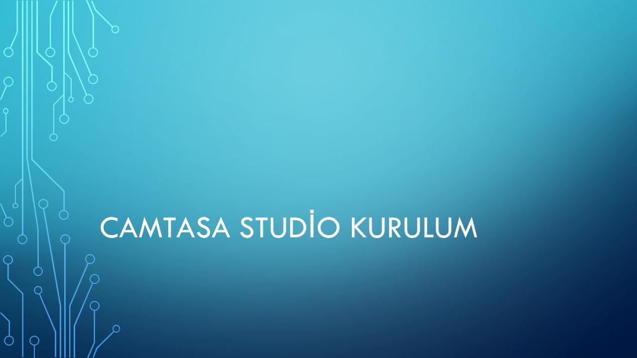 CAMTASIA KURULUMU Bu bölümde Camtasia Studio programının yapımcı şirketi olan TechSmith'in hazırlamış oldu ğ u Lisans Sözleşmesini kabul etmemiz isteniyor.