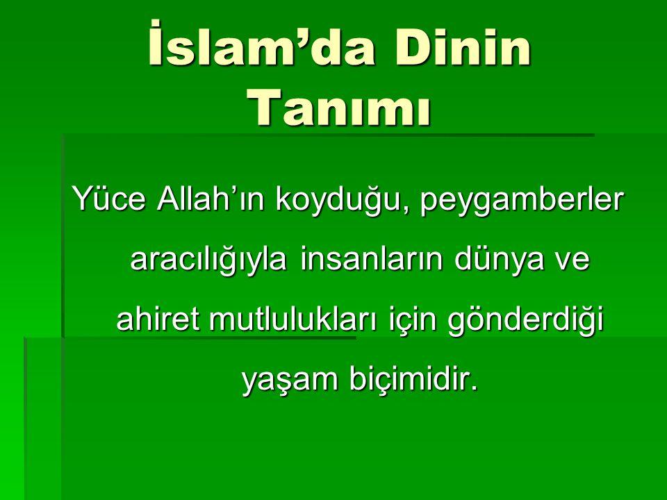 İslam'ın Şartları  Şahadet getirmek  Namaz kılmak  Zekat vermek  Oruç tutmak  Hac etmek
