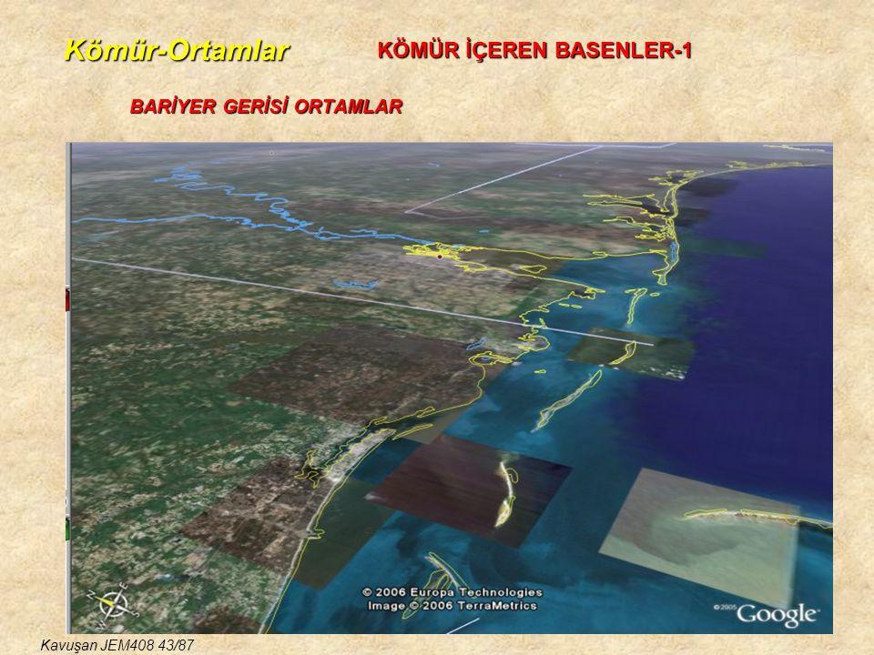 Kömür-Ortamlar BARİYER GERİSİ ORTAMLAR KÖMÜR İÇEREN BASENLER-1 Kavuşan JEM408 43/87