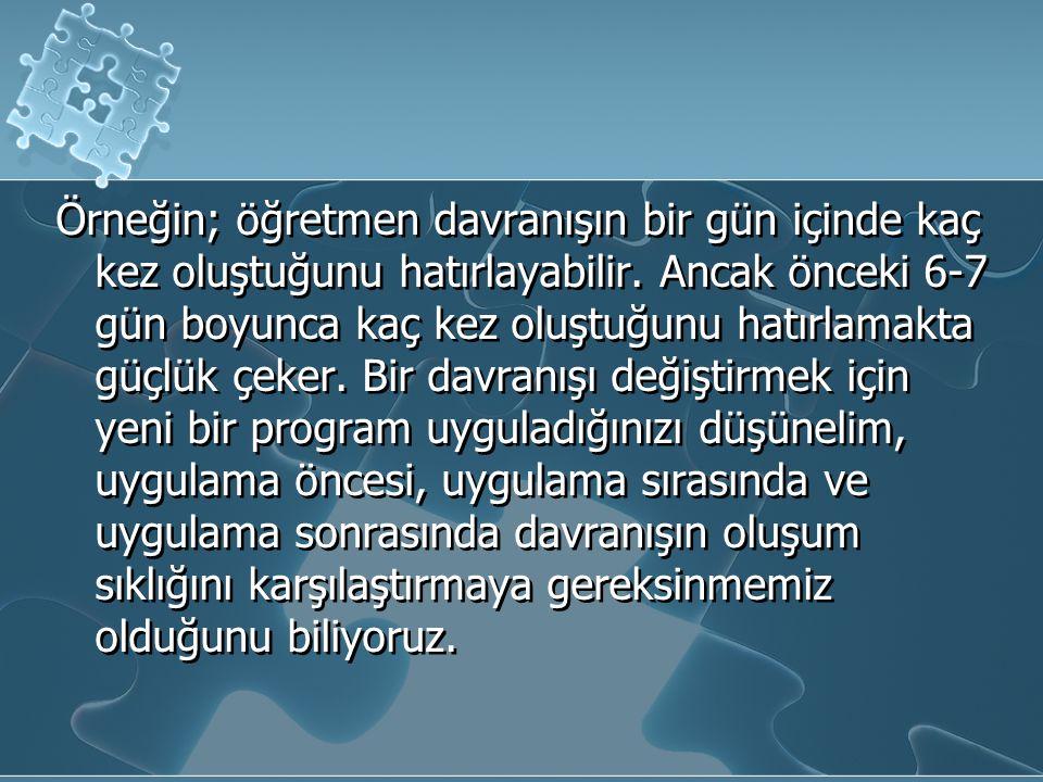 PEKİŞTİRME TARİFELERİ (devam) b.