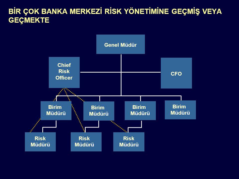 Notes: N917-01-028 Page 4 Genel Müdür Chief Risk Officer CFO Risk Müdürü Risk Müdürü Risk Müdürü Birim Müdürü Birim Müdürü Birim Müdürü Birim Müdürü B