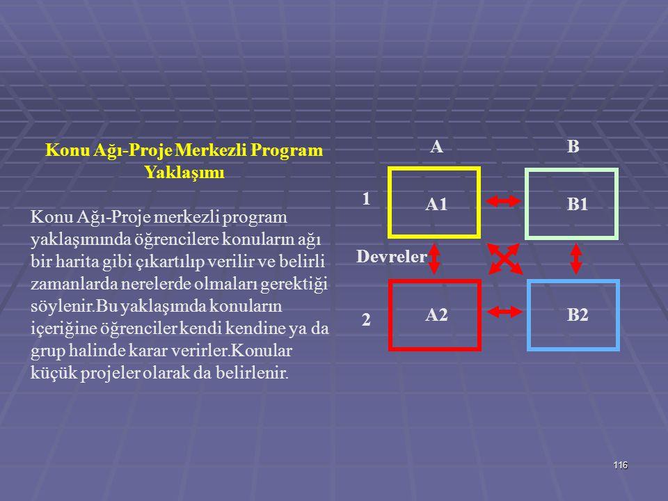 115 Piramitsel ve Çekirdek Programlama Yaklaşımı Piramitsel yaklaşımda ilk yıllarda geniş tabanlı konuların yer aldığı giderek uzmanlaşmanın küçük bir