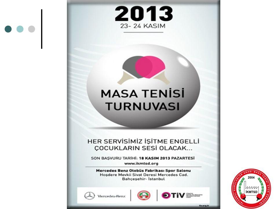 4.Kuruluşlararası Açık Masa Tenisi Turnuvası (TİV)