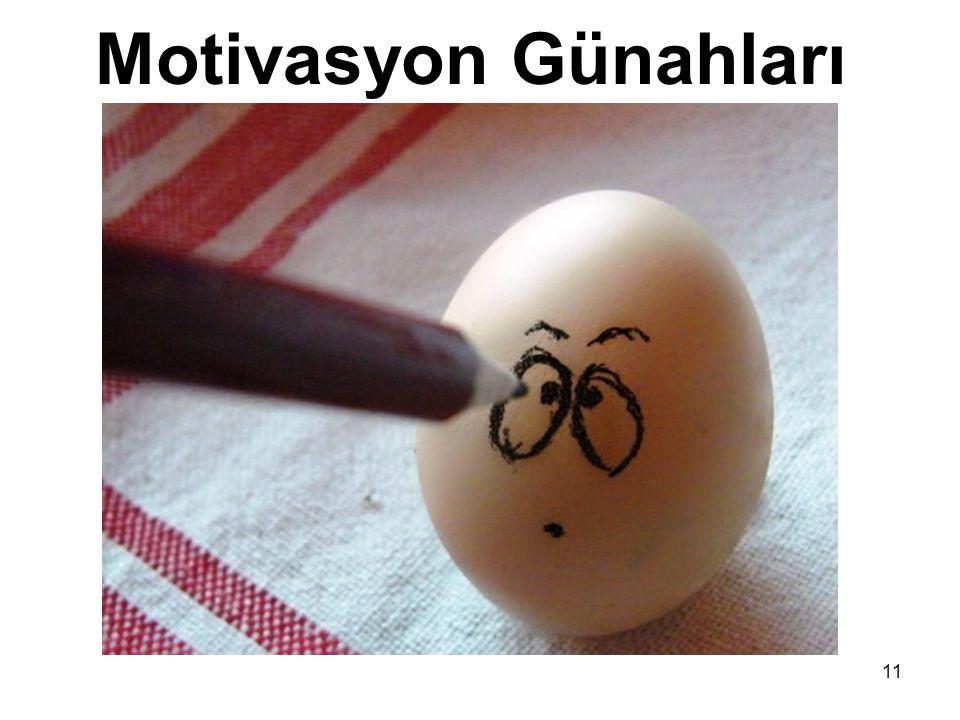 11 Motivasyon Günahları