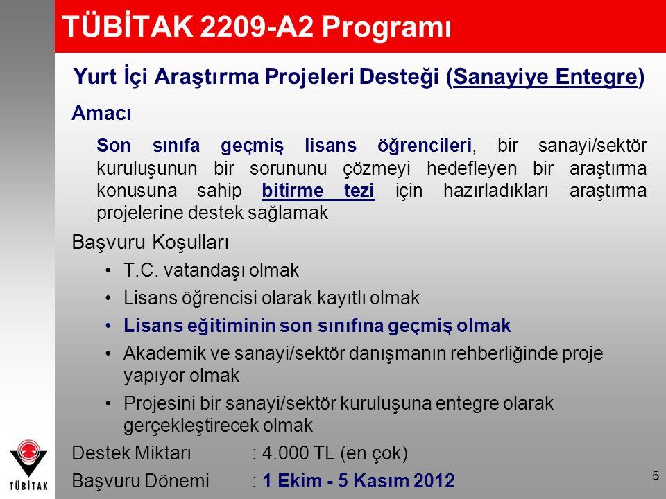 2013 Hedefi Lisans Sanayiye Entegre Bitirme Projeleri Yarışması