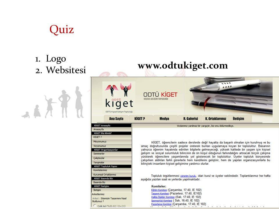 2.Websitesi Quiz www.odtukiget.com