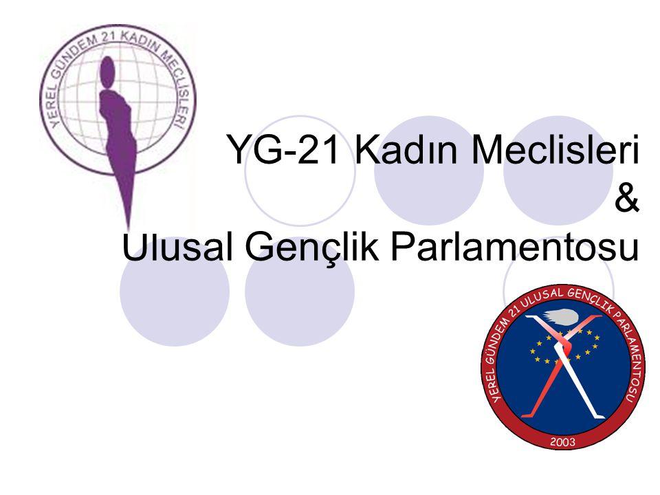 Yerel Gençlik Meclisleri ve UGP Gönüllü Kadın-erkek eşitliğini gözeten Dinamik Şeffaf Paylaşımcı Ortaklık kültürüne dayalı Bilgi ve iletişim teknolojilerini etkin kullanan YG-21 Ulusal Gençlik Parlamentosu…