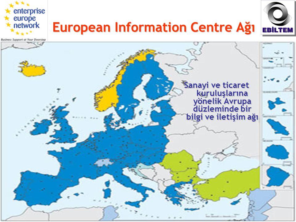 European Information Centre Ağı Sanayi ve ticaret kuruluşlarına yönelik Avrupa düzleminde bir bilgi ve iletişim ağı