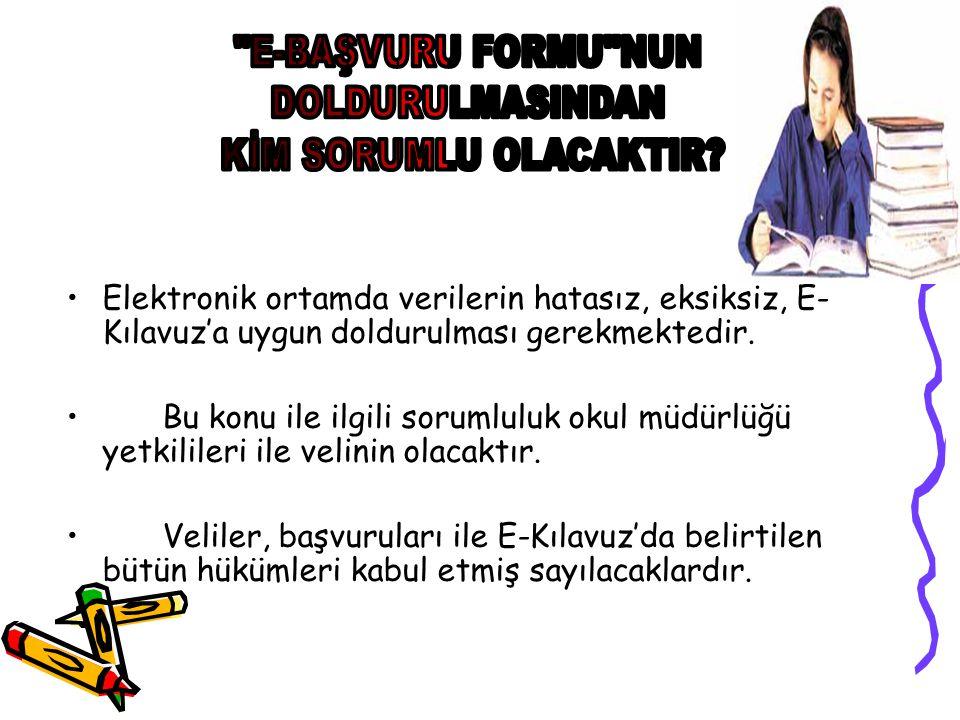 ANADOLU ÖĞRETMEN LİSELERİNE BAŞVURU ŞARTLARI İlköğretim okulu 8.