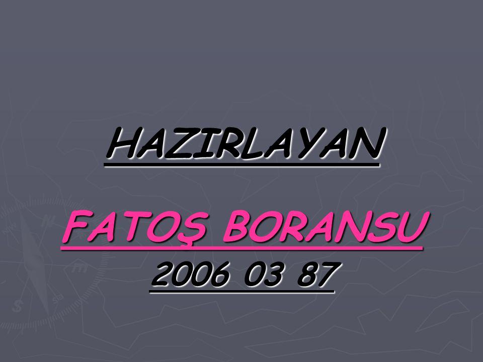 HAZIRLAYAN FATOŞ BORANSU 2006 03 87