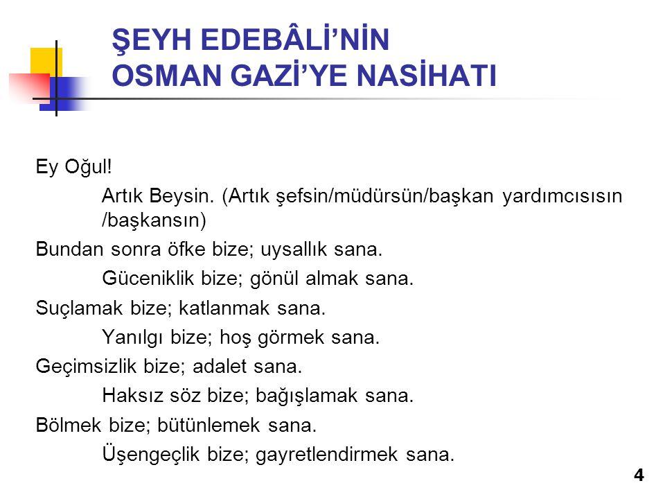 EKİP'TE NELER YOKTUR.