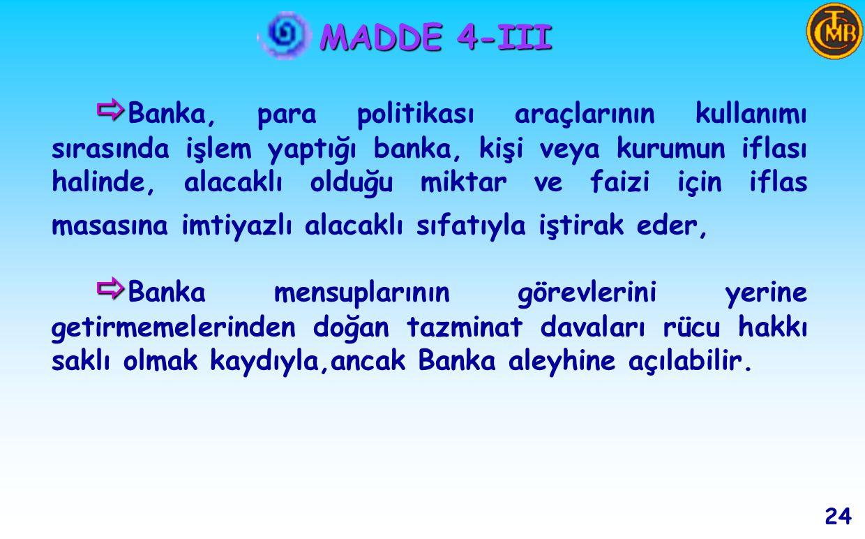 MADDE 4-III 23