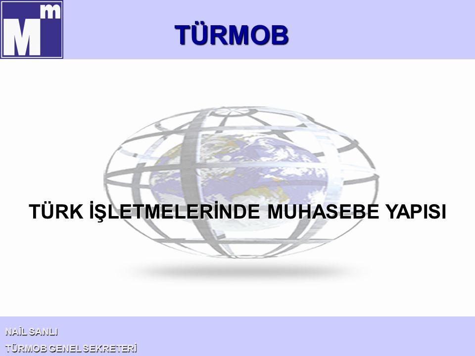 TÜRMOB NAİL SANLI TÜRMOB GENEL SEKRETERİ Türkiye'de profesyonel muhasebe meslek mensuplarının bilgi ve birikimi ile işletmelerin muhasebe sistemleri çağdaş bir düzeydedir.