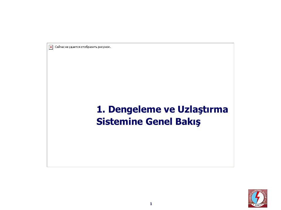 42  Türkiye pazarı açısından bakıldığında bu durumun bir önceki durumdan farkı yoktur… Türkiye sistemi ile diğer sistemin birbirine göre büyüklükleri frekans kontrol ve buna benzer işlemleri etkileyebilir.