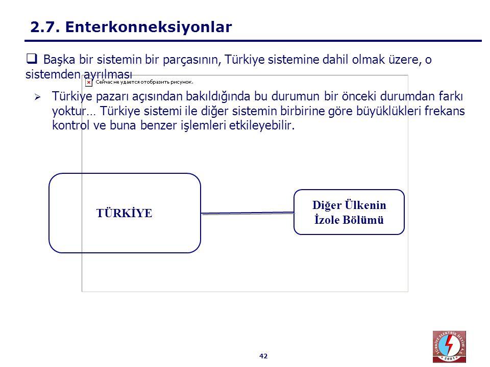 42  Türkiye pazarı açısından bakıldığında bu durumun bir önceki durumdan farkı yoktur… Türkiye sistemi ile diğer sistemin birbirine göre büyüklükleri
