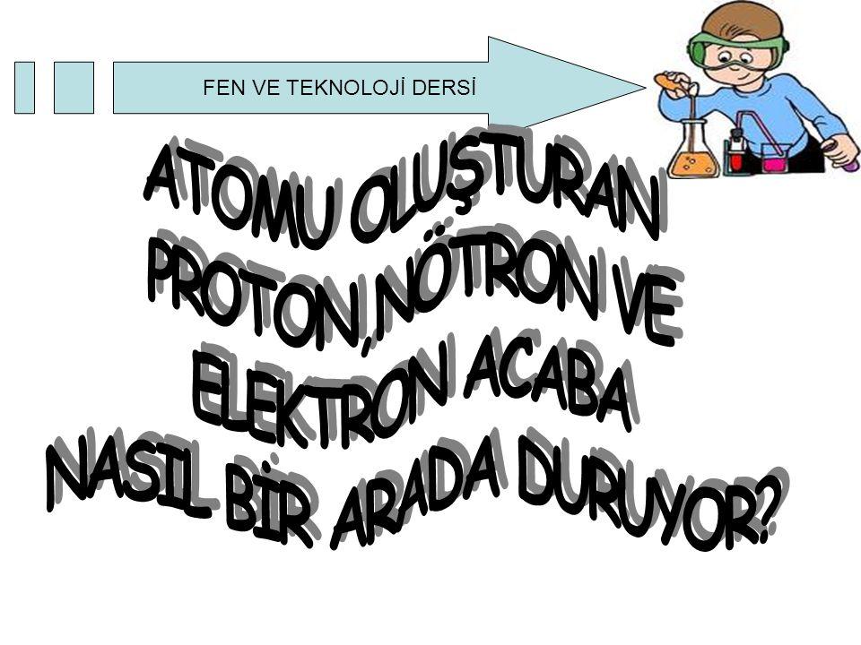 ?Her element atomlardan oluşmaktadır ve her atomda proton,nötron ve elektronlar vardır.Fakat elementlerin birbirinden farklı özelliklere sahip olmasının sebebi ne olabilir?