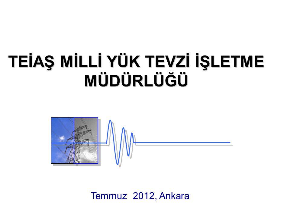 Sekonder Frekans Kontrolunun Amacı Sistem frekansını nominal değer olan 50 Hz'e getirmek.