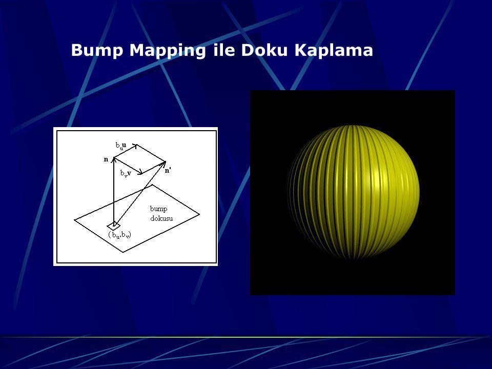 Bump Mapping ile Doku Kaplama