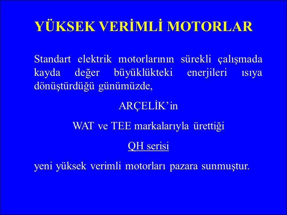 YASAL DÜZENLEMELER (AVRUPA) Avrupa Elektrik Makinaları Üreticileri Komitesi (CEMEP) ve Avrupa Komisyonu'nun 28 Haziran 1999 tarihli deklarasyonu ile, motorları verim sınıflarına göre ayırmıştır.