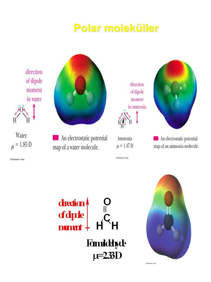 Polar moleküller