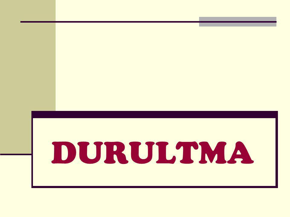 DURULTMA